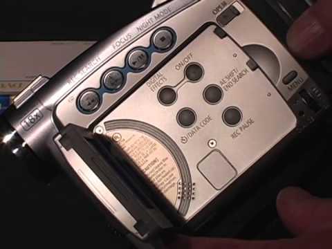 LACC Cin 2 Canon ZR MiniDV Camera & TRIPOD TUTORIAL (silent)