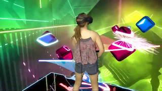 Beat Saber || Lily - Alan Walker, K-391 & Emelie Hollow || Mixed Reality