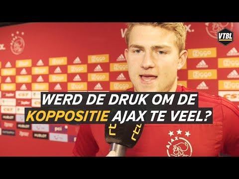 Werd de druk om koploper te worden Ajax te veel? - VTBL