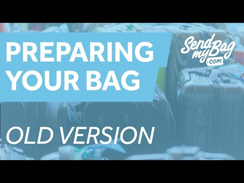 Preparing Your Luggage for Travel by SendMyBag - Old video see description for link to new version.
