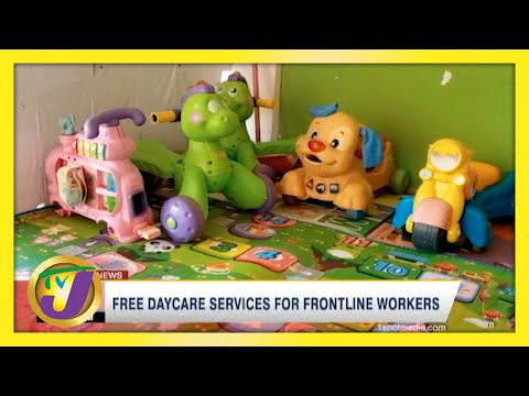 Free Daycare Services for Frontline Workers | TVJ News - May 10 2021