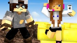 Minecraft: CORRIDA PVP - BONITO vs FEIO!
