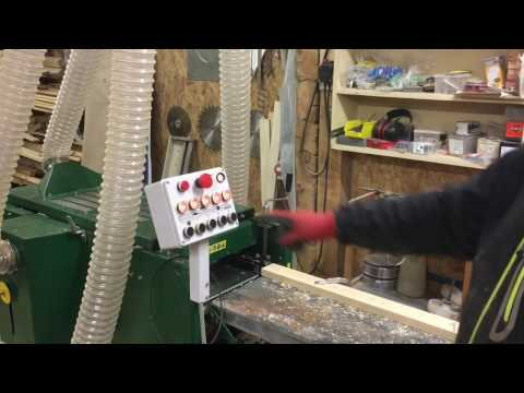 12meters/min - Low Budget Machine Turns Boards Into Paneling - Logosol PH260