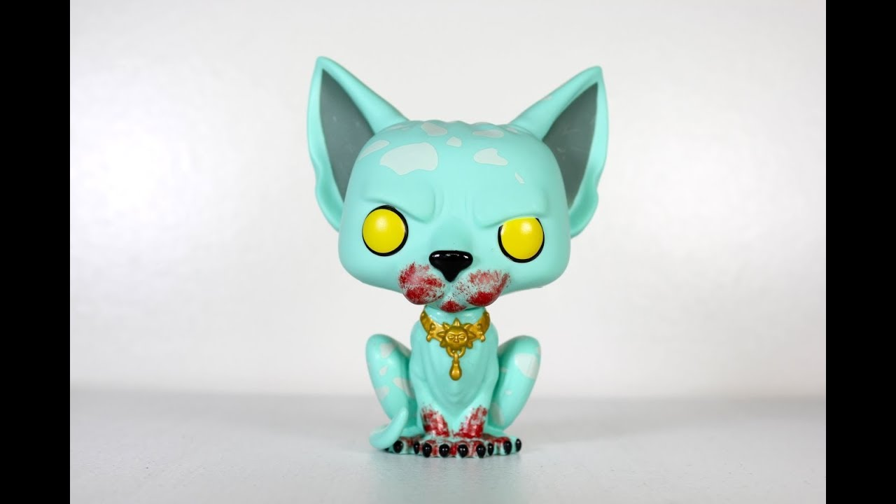 23591416d7a Saga BLOODY LYING CAT Funko Pop review - YouTube