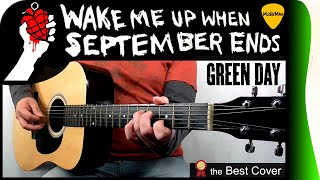 WAKE ME UP WHEN SEPTEMBER ENDS 📅 - Green Day / GUITAR Cover / MusikMan #174