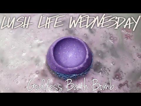 GODDESS BATH BOMB | LUSH | FRESH HANDMADE COSMETICS - YouTube