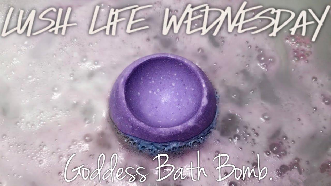 GODDESS BATH BOMB   LUSH   FRESH HANDMADE COSMETICS