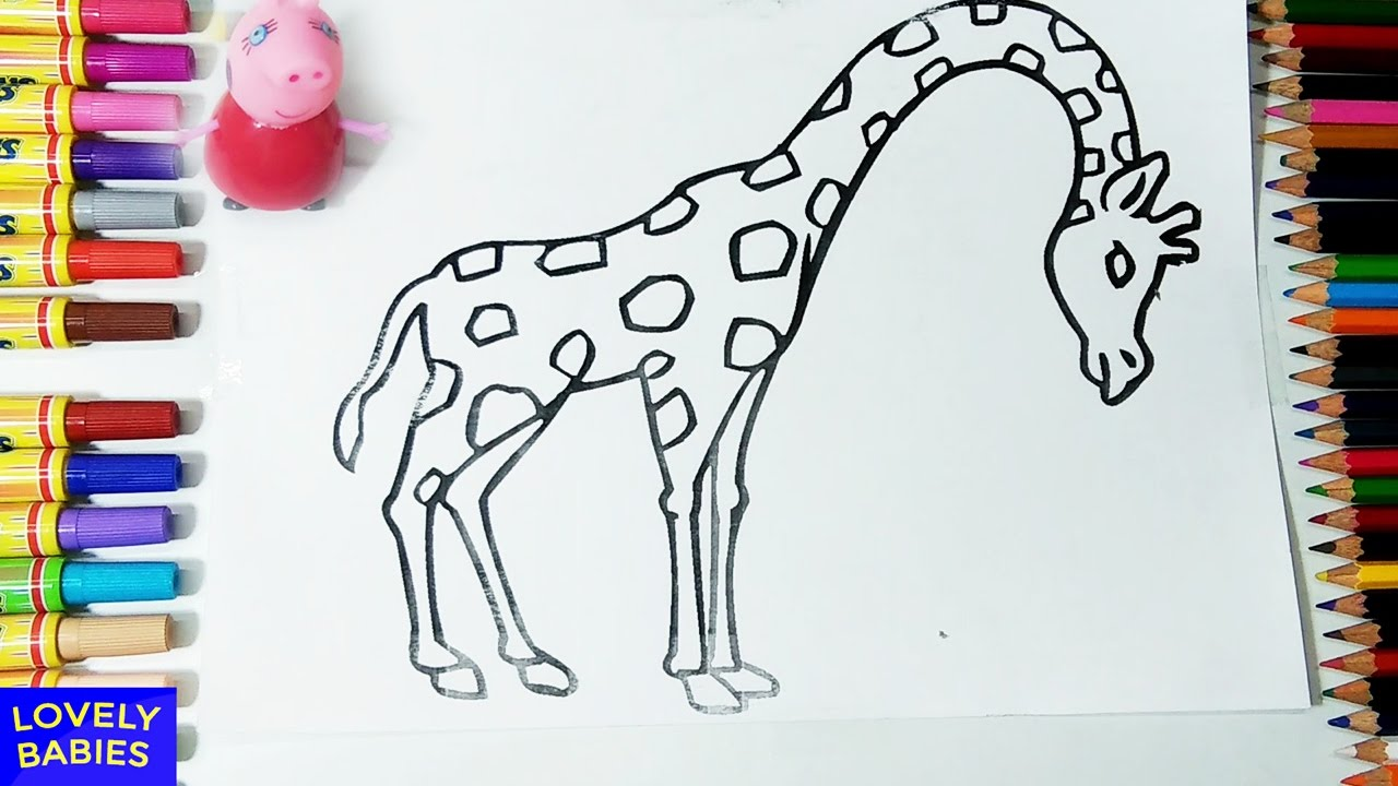 Giraffe Coloring Pages Giraffe Coloring Pages For Kids Giraffe