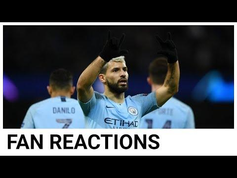 FAN REACTIONS: AGUERO & SANE SHOW NO MERCY | MANCHESTER CITY 7 SCHALKE 0 (10-2 AGG)