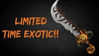 LORD SINISTER GAMEPLAY!! NEW LIMITED TIME EXOTIC!! (ROBLOX ASSASSIN)