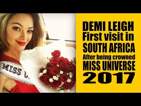 MISS UNIVERSE  2017 Homecoming in South Africa