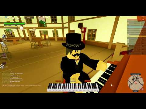 Playing Bad Guy By Billie Eilish On The Wild West (Roblox)