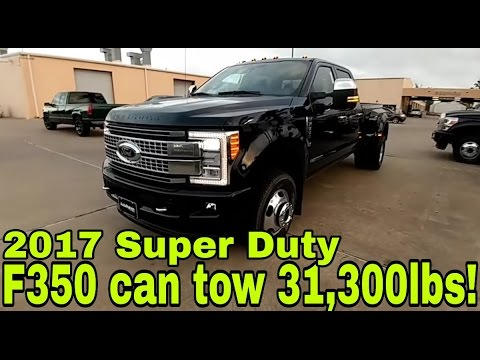 2017 F350 Platinum Dually...Full Review: Part 1