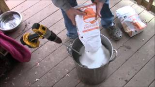 completeeasy guide to making sugar water video for feeding bees