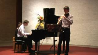 Sonata in G minor, J.S.Bach, BWV 1020 - Luuk Meeuwis, Lidwina in Concert 08092012