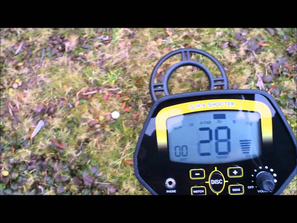 Gold Digger Quick Shooter GC1032 Metal Detector From China REVIEW
