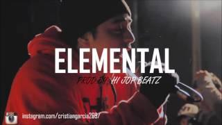 "Hip Hop Underground Instrumental ""Elemental"" - Base de Rap Freestyle Flow 2016"