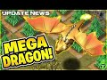 Gambar cover Brand New Mega Dragon Troop In Clash Of Clans Hindi
