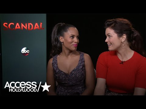 'Scandal's' Kerry Washington & Bellamy Young Answer Our Burning Questions About S6