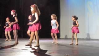 2017-03-26 Maya's tap dance at recital rehearsal