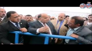 حسام الدين إمام محافظ الدقهلية يتفقد محطة صرف صحي بمركز ومدينة بلقاس