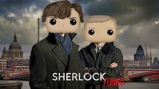 Шерлок Холмс с черепом Фанко