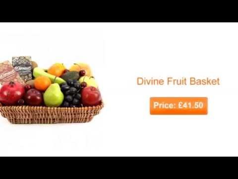 Fresh Fruit Baskets for Delivery UK - Fresh Fruit Gift Hampers, Fruit by Post