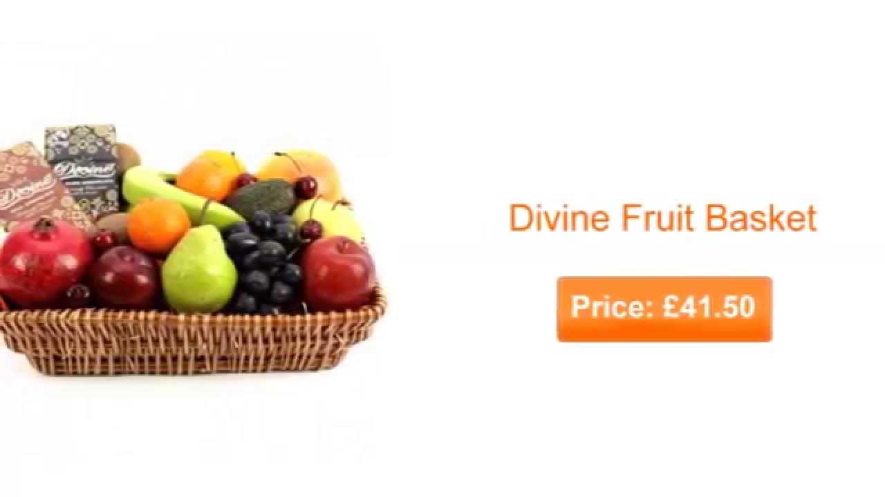 Foodesign Fresh Fruit Basket: Fresh Fruit Baskets For Delivery UK