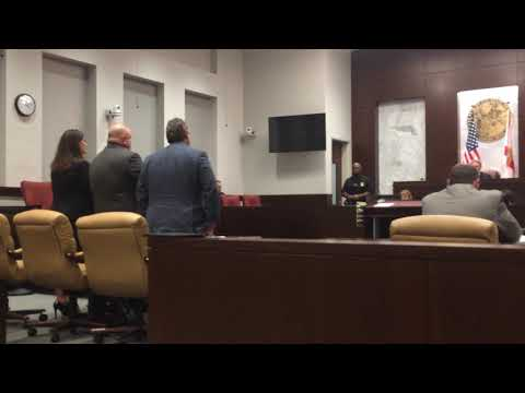 Assistant State Attorney Greg Wilson sentenced