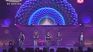 "8/9/2007 SS501 ""Kokoro"" and ""Be A Star"" Performances at 