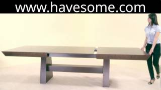 Squares Extendable Dining Table