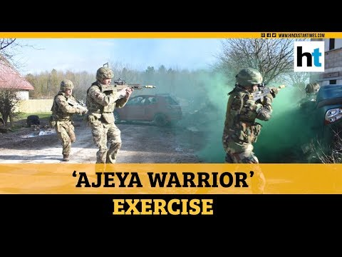 Watch: India, UK soldiers rehearse counter-terror operations in joint exercise