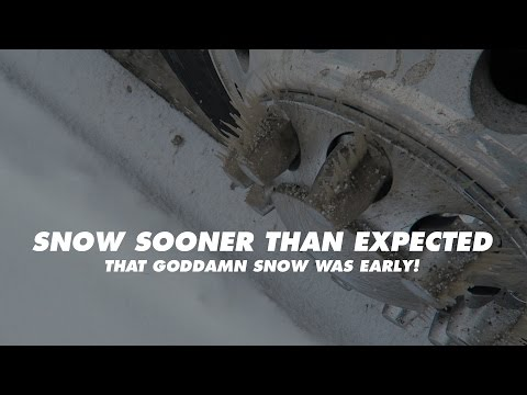 Snow Sooner Than Expected | Allie Knight