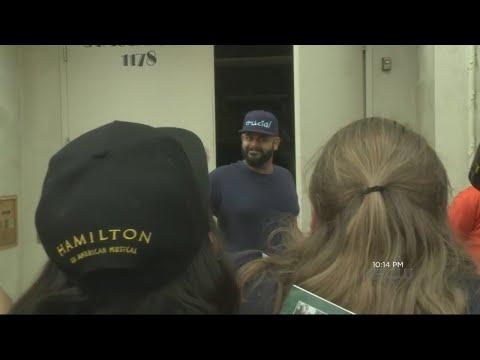 Fans Bid Farewell To Hamilton