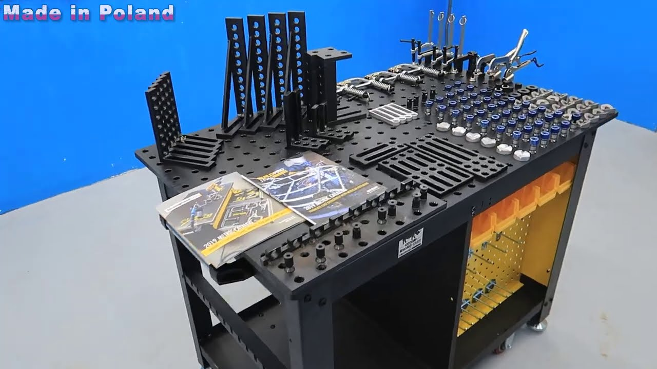Assembling Strong Hand Tools Rhino Welding Cart Table