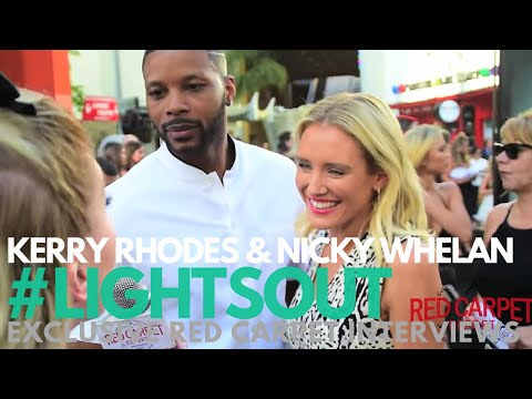 Kerry Rhodes & Nicky Whelan FromDuskTilDawn at the