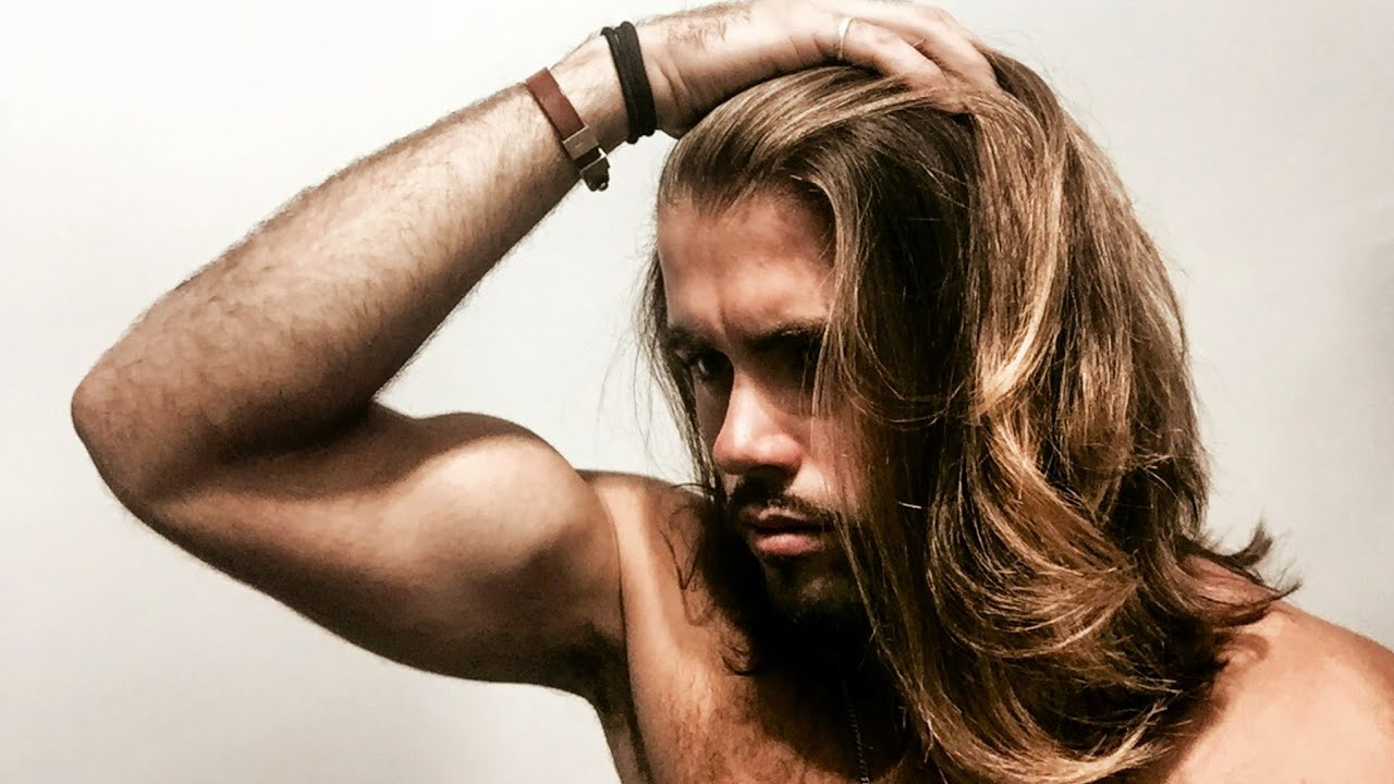 long hair styles men how to amazing hair for 1301 | maxresdefault