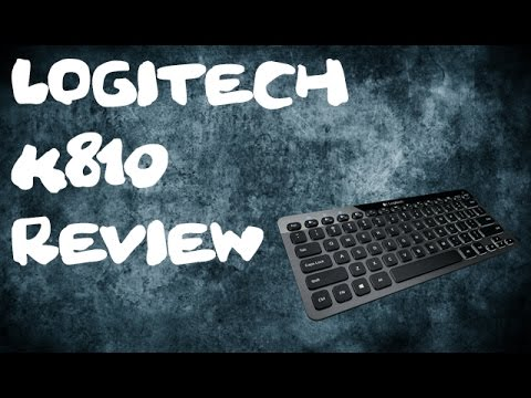 Best wireless keyboard of 2017 (Logitech K810 review)