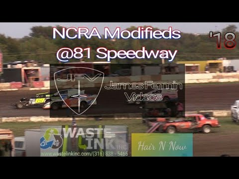 NCRA Modifieds #56, Heat 2, 81 Speedway, 09/15/18