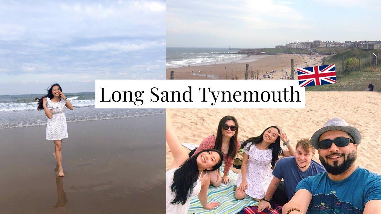 เที่ยวทะเลอังกฤษตอนเหนือ Long Sand Tynemouth | Warm Inna