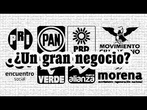 ¿Porqué existen tantos partidos políticos en México?