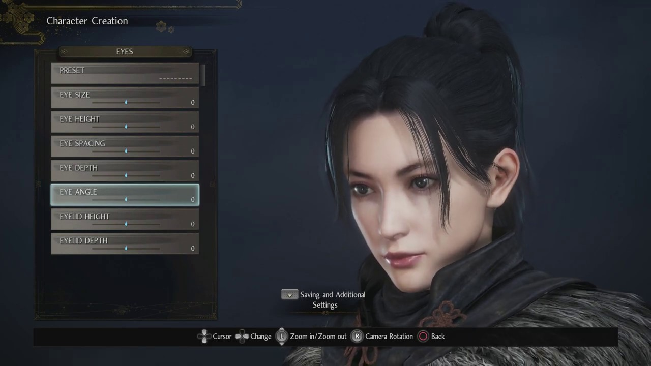 Image result for nioh 2 character creation