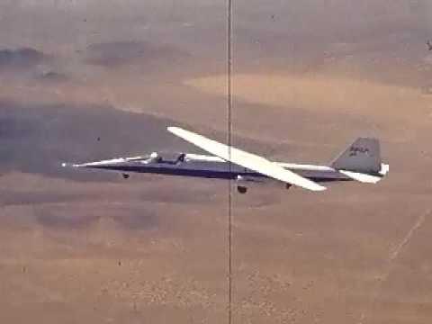 AD-1 aircraft in Flight