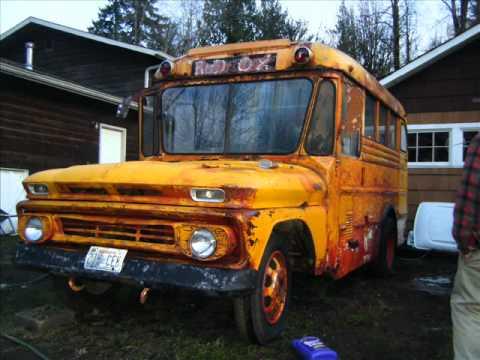 Old Woodie Food Truck