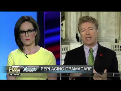 Rand Paul Explains Why Obamacare Failed and How to Solve it
