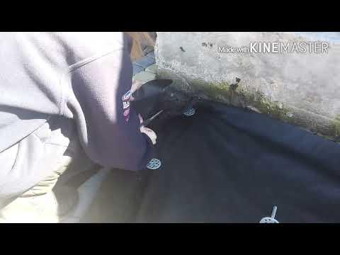 Відео урок! Стелимо Агроволокно, садимо туї & засипаємо корою!)