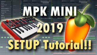 setting Up the Akai MPK mini MKII in Studio One 3