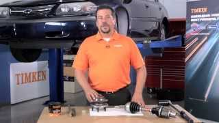 Timken Tricks of the Trade - Lubricating Light Vehicle Axle Shafts