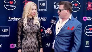 Designer Alina Petra Interviewed at ArtHearts Fashion in Beverly Hills