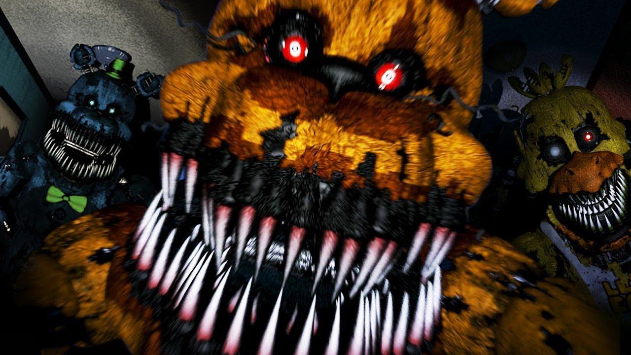Youtubers Vs Five Nights At Freddy S Fnaf Youtube